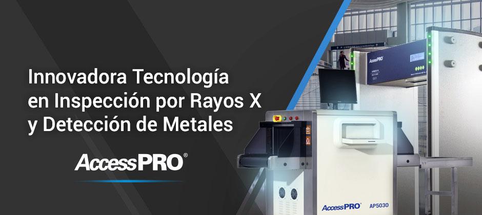 Arco detector de metales y maquinas de RX